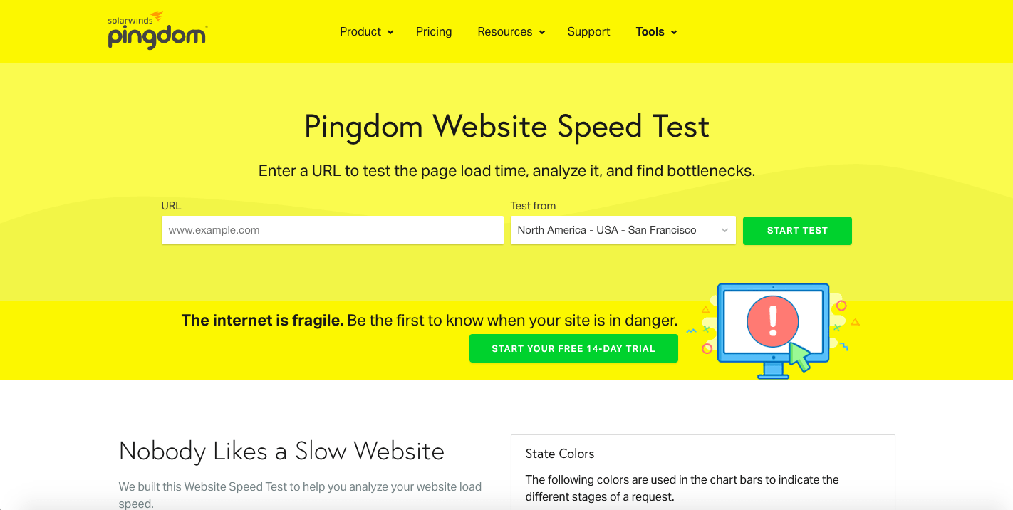 website-speed-test