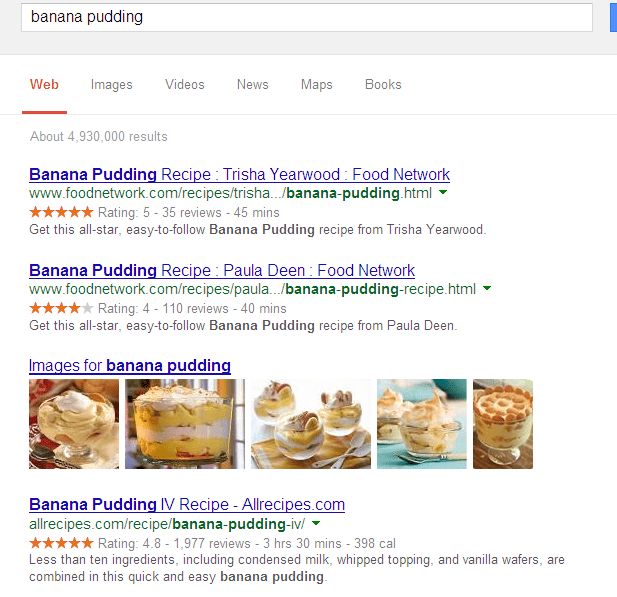 recipe snippets