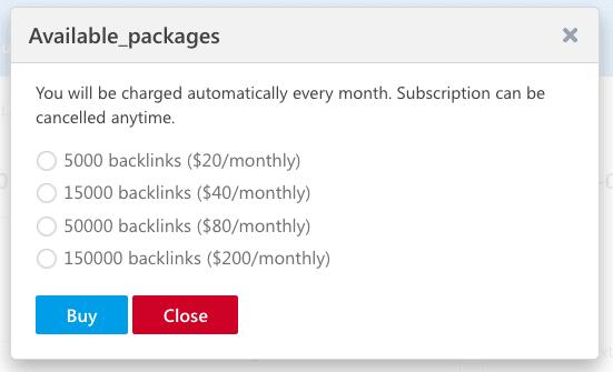 backlink monitoring price