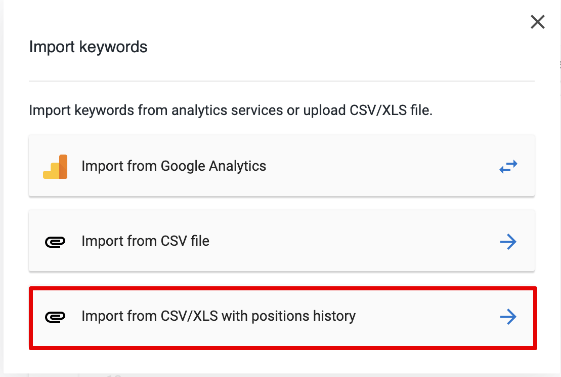 Importing Data from CSV file