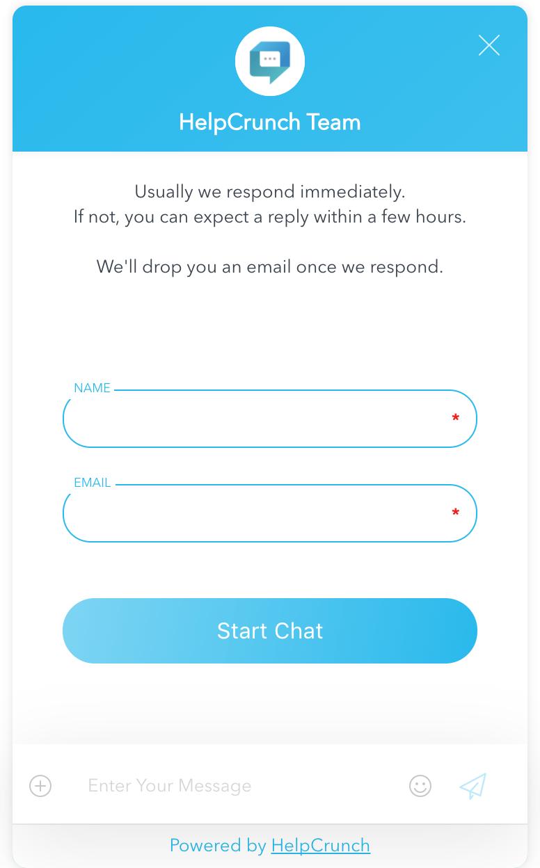 helpcrunch-pre-chat-form