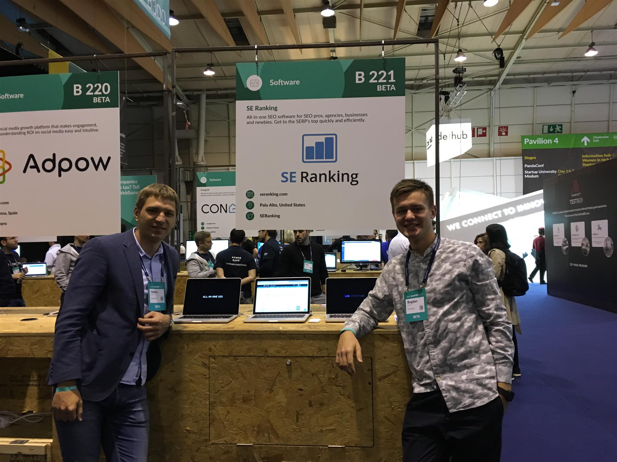 se ranking at websummit