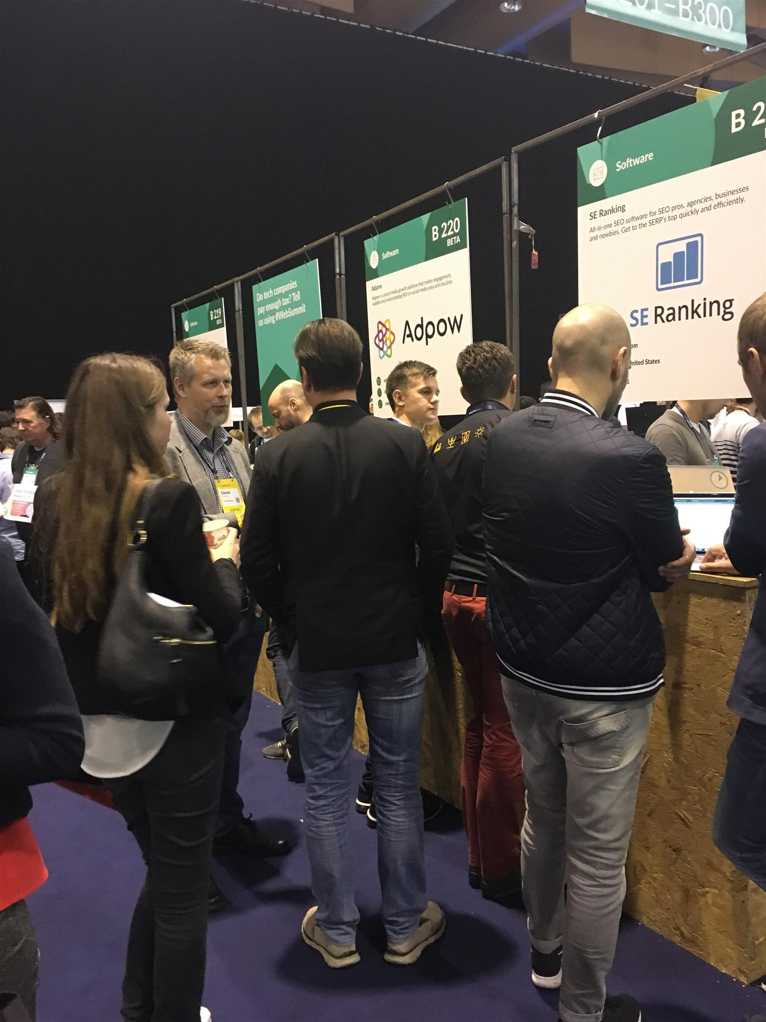 websummit crowd