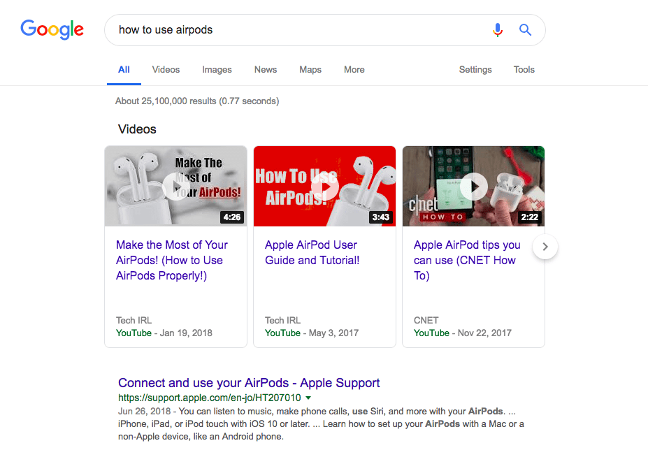 google-search-how-to-use-airpods