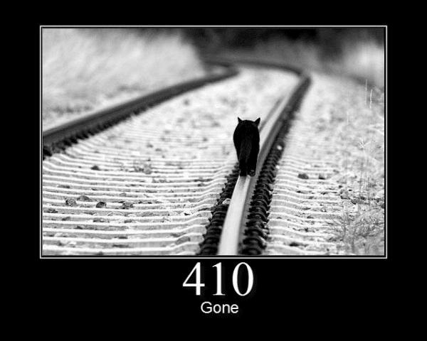 410 Gone meme