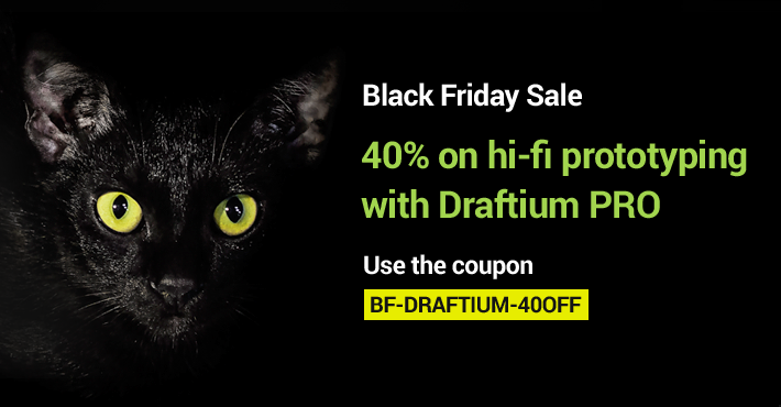 Black Friday 2019 Deal from Draftium