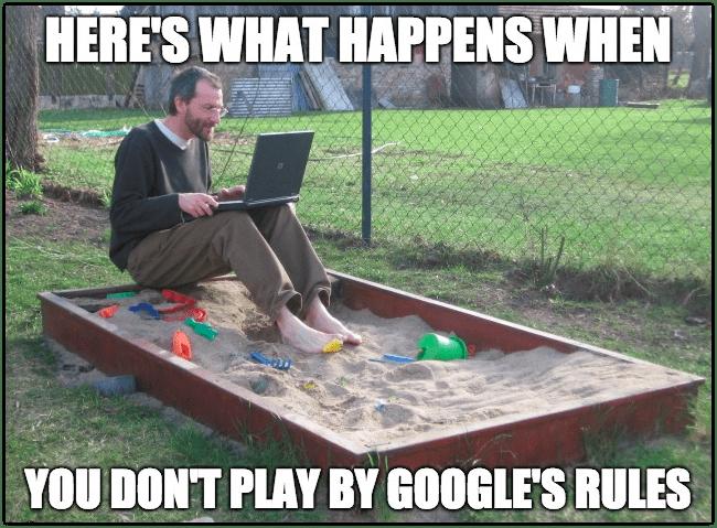 Meme of Google Sandbox