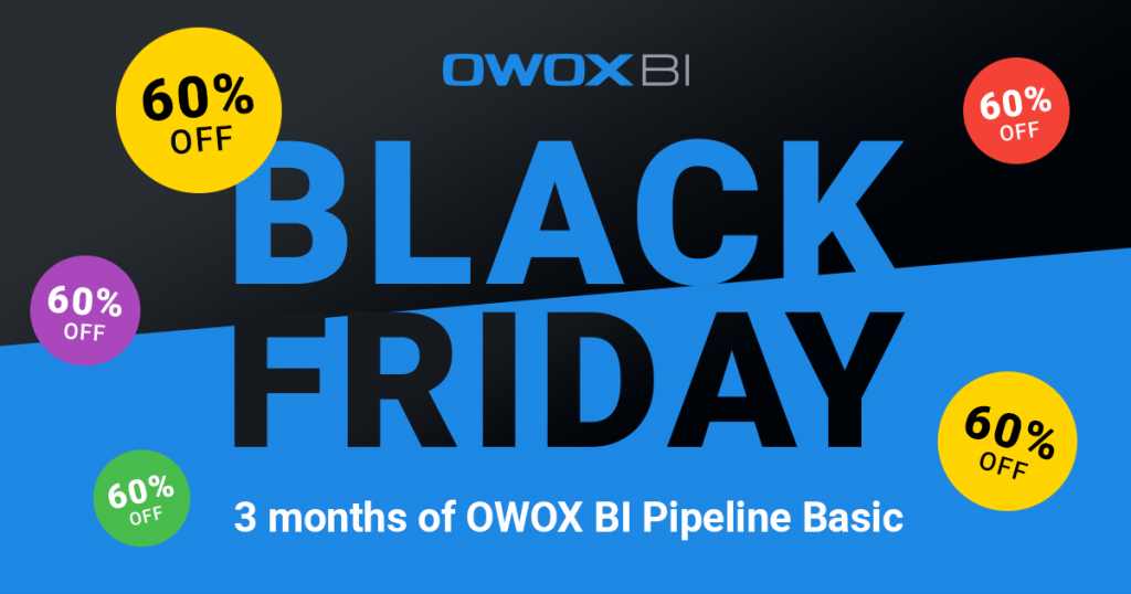 Black Friday 2019 Deal from OWOX BI