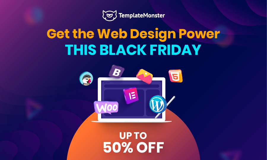 Black Friday 2019 Deal from TemplateMonster
