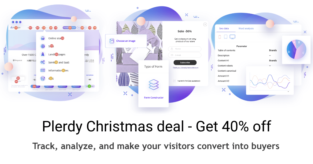 Xmas Deal from Plerdy