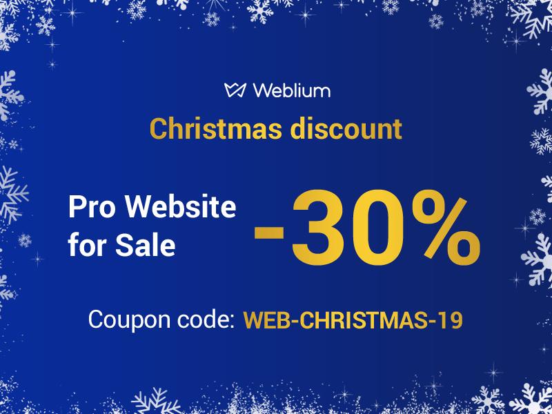 Xmas Deal from Weblium