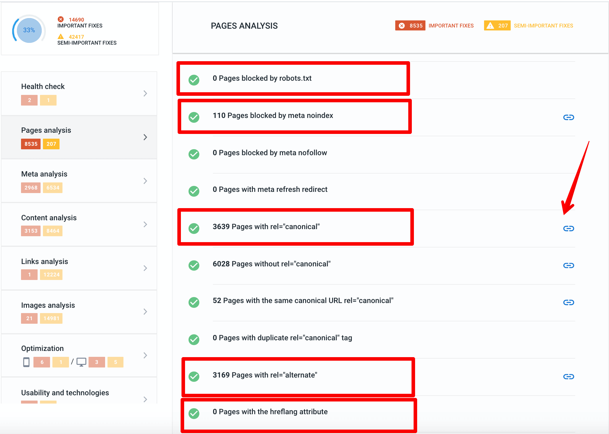 SE Ranking Website Audit errors after moving to HTTPS