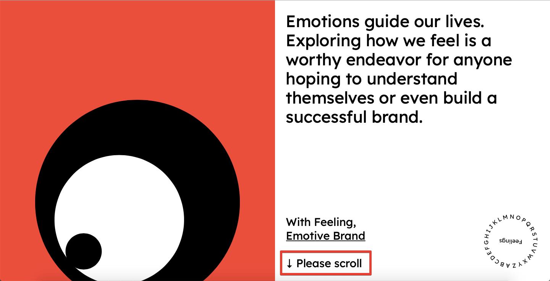 Design-centric website