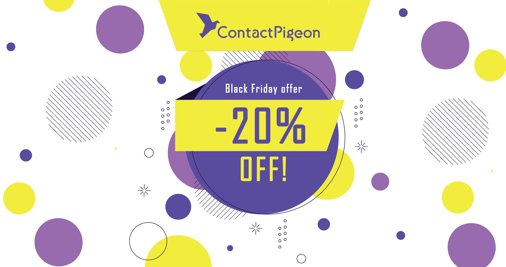 ContactPigeon Black Friday 2020