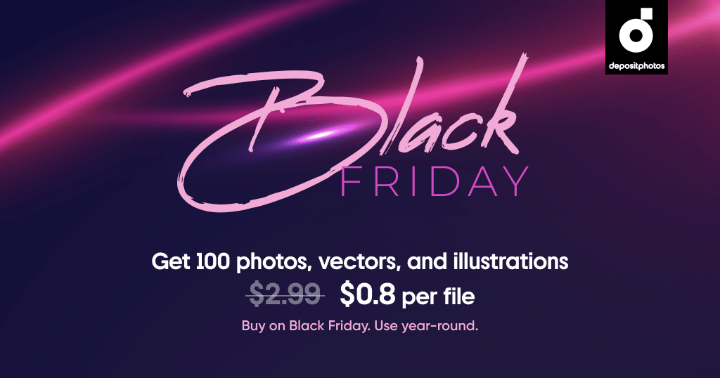 Depositphotos Black Friday 2020