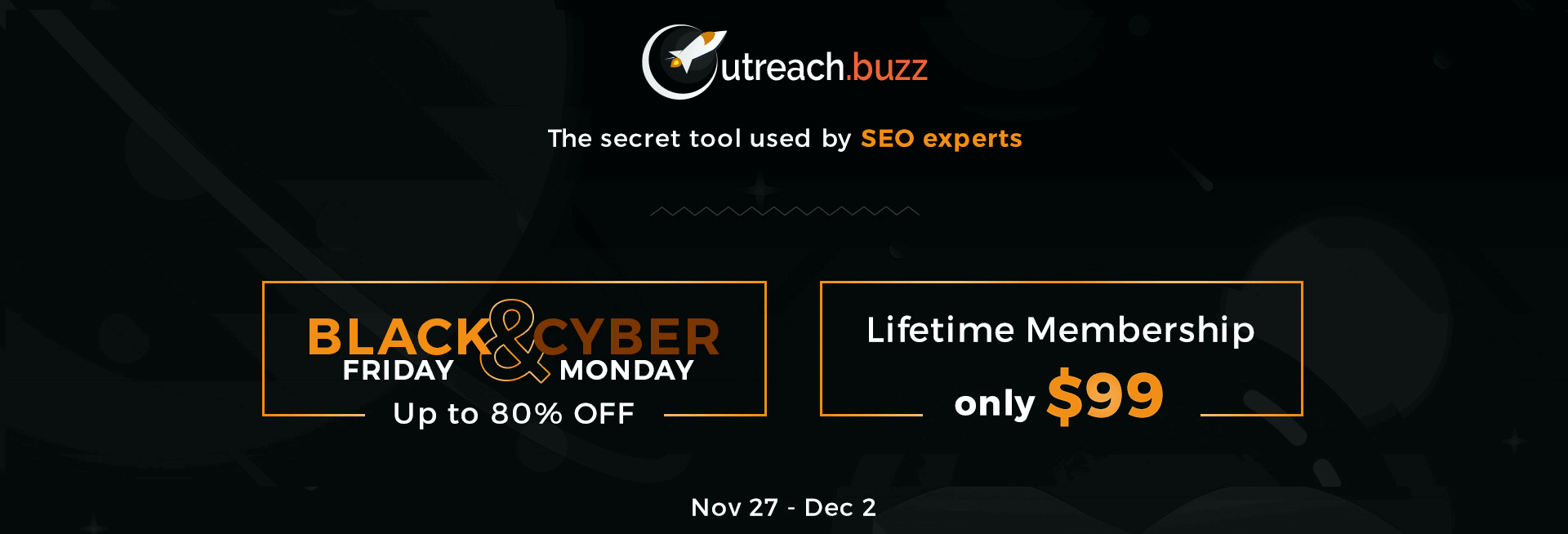 OutreachBuzz Black Friday 2020