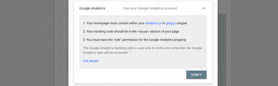 Google Analytics GSC