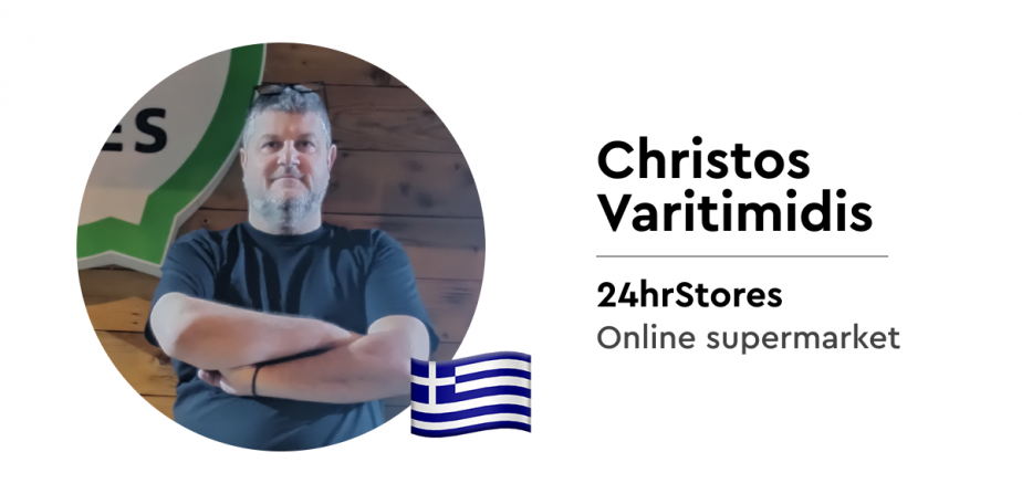 Christos from Greece