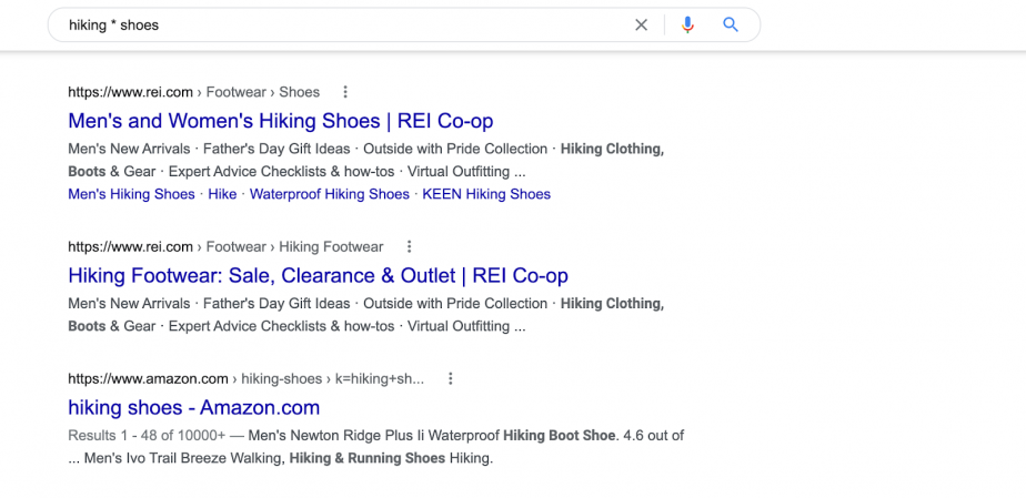 hiking * shoes