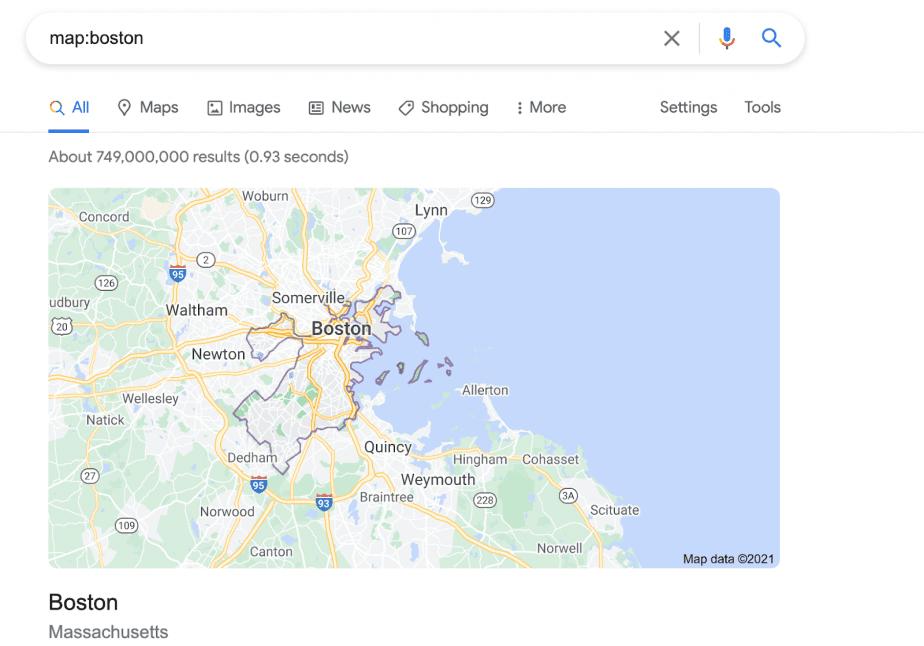 map:boston