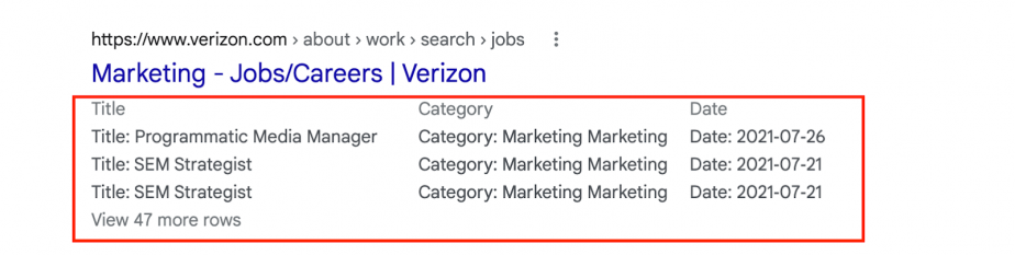 JobPosting