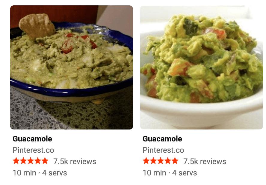recipe bing