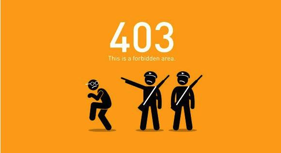 Código de error 403