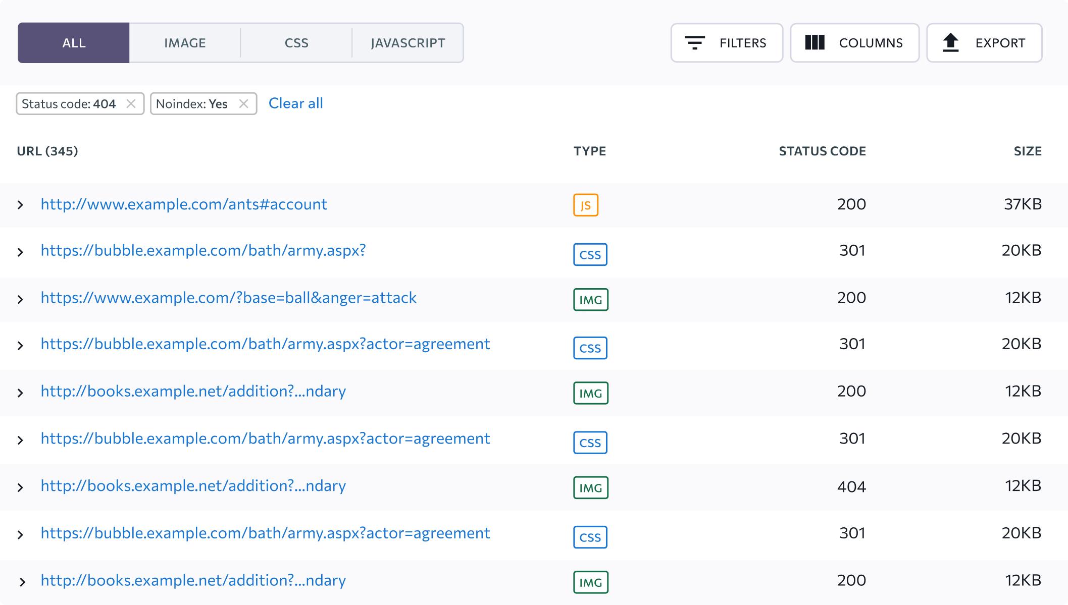 Ontvang notificaties als je bestanden niet geoptimaliseerd zijn